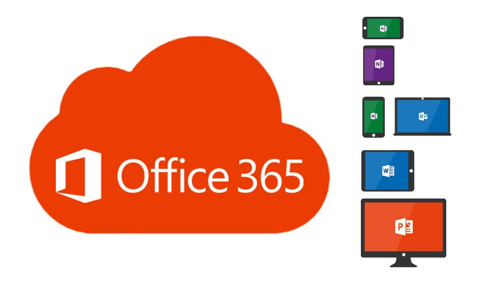 Presiona esta imagen del logo de Office 365 para ver el video